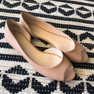 Nine West Nude Flats - Great Condition!